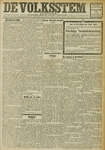 De Volksstem 1923-10-07