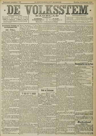 De Volksstem 1914-02-17