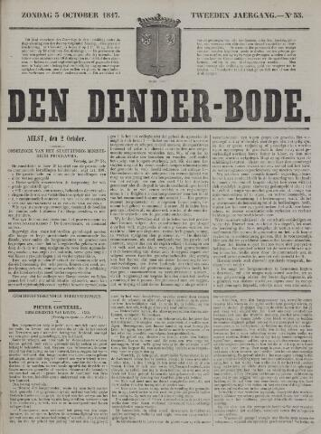 De Denderbode 1847-10-03