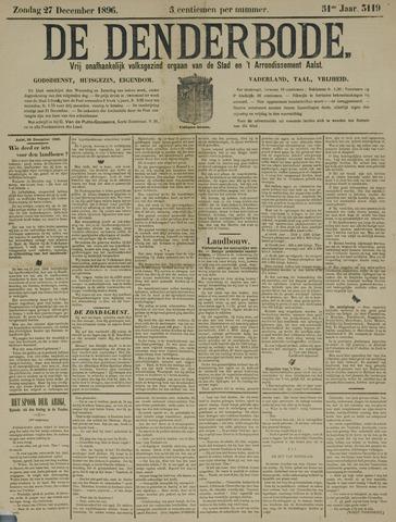 De Denderbode 1896-12-27