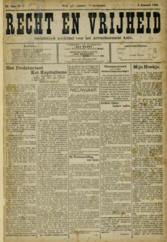 Recht en Vrijheid 1924