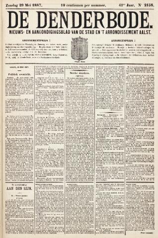 De Denderbode 1887-05-29