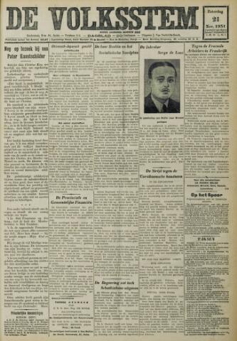 De Volksstem 1931-11-21