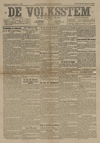 De Volksstem 1914-08-29