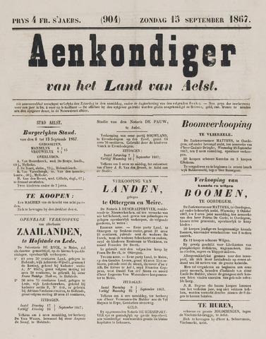 Aankondiger 1867