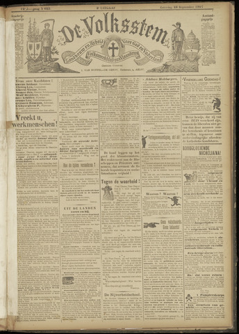 De Volksstem 1907-09-28