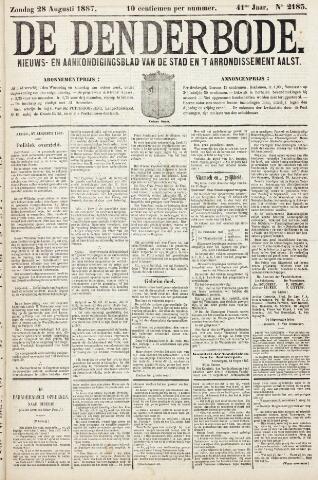 De Denderbode 1887-08-28