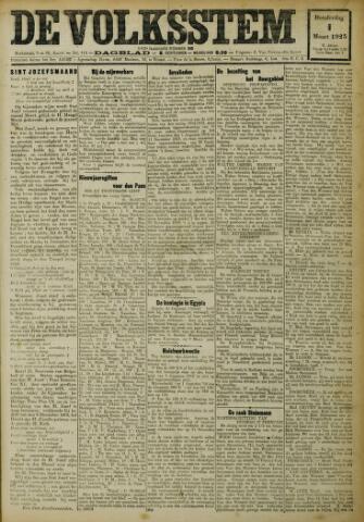 De Volksstem 1923-03-01