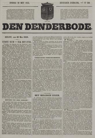 De Denderbode 1853-05-22