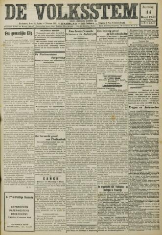 De Volksstem 1931-03-14