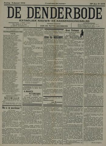 De Denderbode 1916