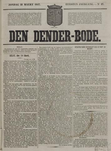 De Denderbode 1847-03-21