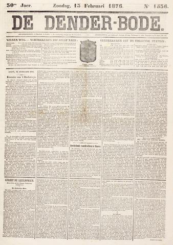 De Denderbode 1876-02-13