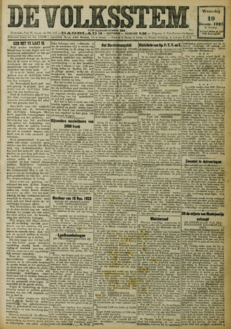 De Volksstem 1923-12-19