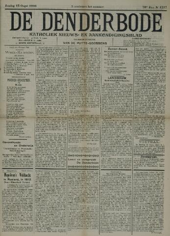 De Denderbode 1916-08-13