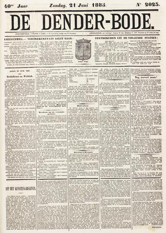 De Denderbode 1885-06-21