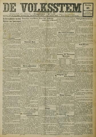 De Volksstem 1926-11-23