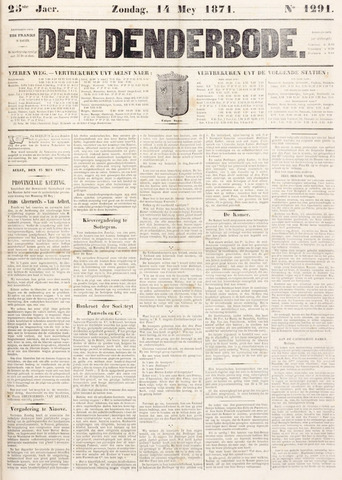 De Denderbode 1871-05-14