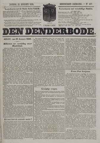 De Denderbode 1859-08-14