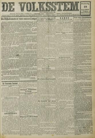 De Volksstem 1931-06-18