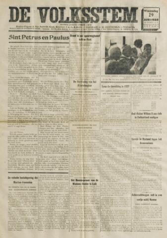 De Volksstem 1938-06-29