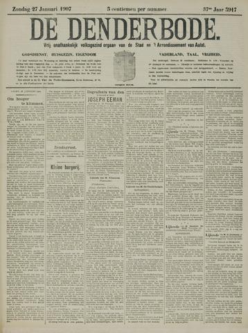 De Denderbode 1907-01-27