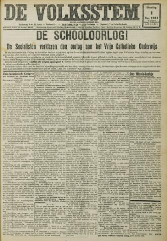 De Volksstem 1931-12-01