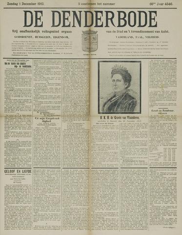 De Denderbode 1912-12-01