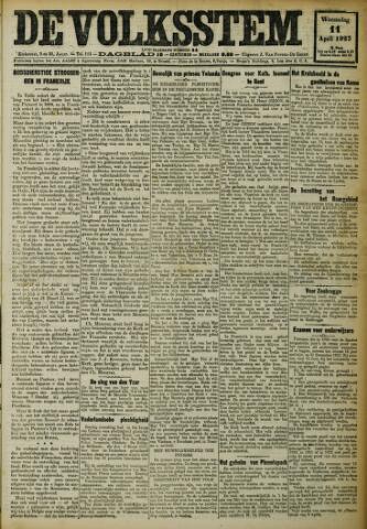 De Volksstem 1923-04-11