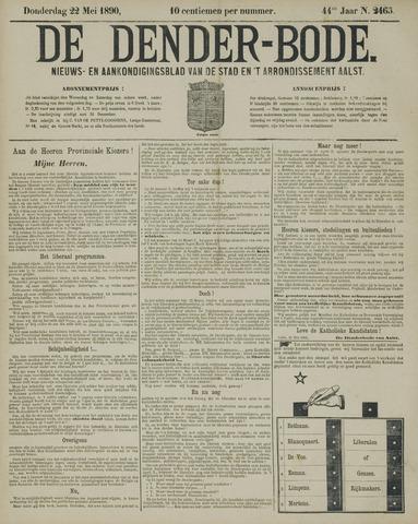 De Denderbode 1890-05-22