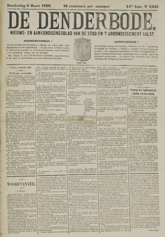 De Denderbode 1890-03-06