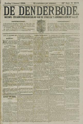 De Denderbode 1888-01-01
