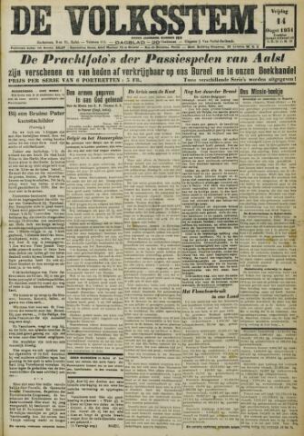 De Volksstem 1931-08-14