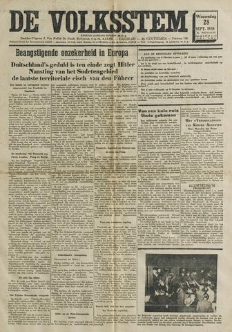 De Volksstem 1938-09-28