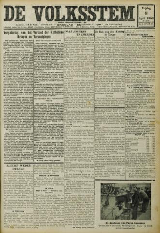De Volksstem 1932-04-08