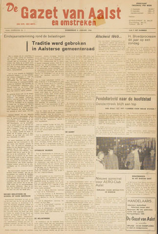 De Gazet van Aalst 1966