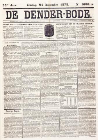 De Denderbode 1878-11-24