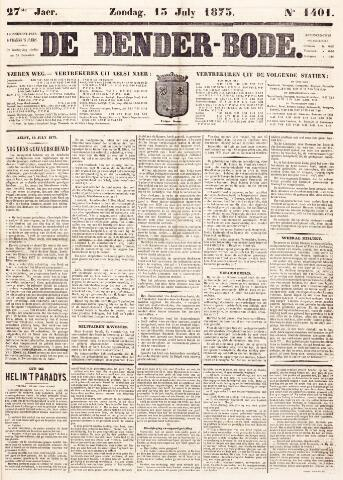 De Denderbode 1873-07-13