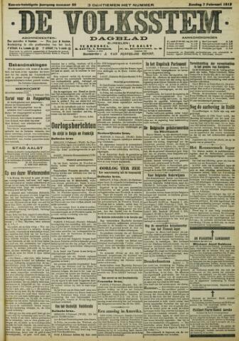 De Volksstem 1915-02-07