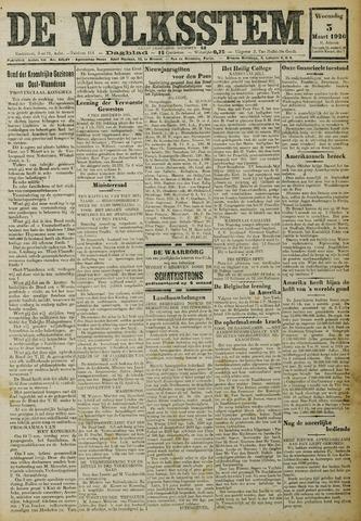 De Volksstem 1926-03-03