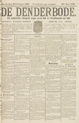 De Denderbode 1901-02-28