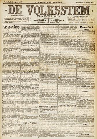De Volksstem 1914-03-12
