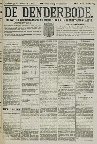De Denderbode 1894-02-15