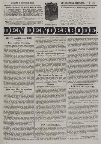 De Denderbode 1859-10-09