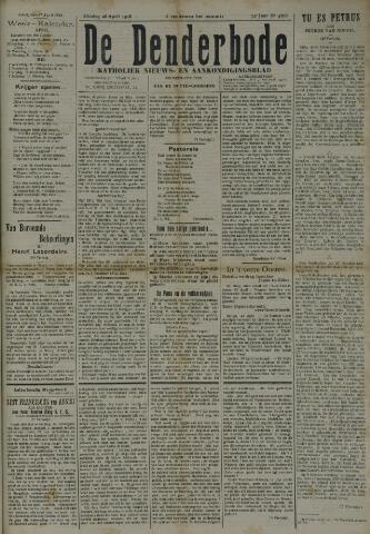 De Denderbode 1918-04-28