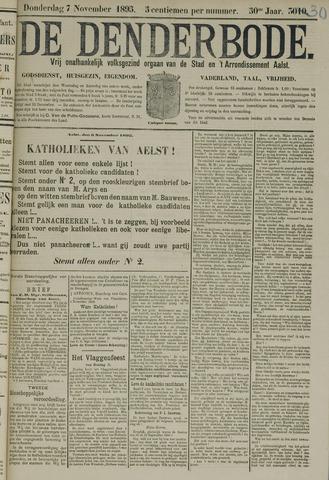 De Denderbode 1895-11-07