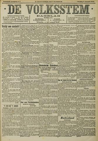De Volksstem 1914-01-09