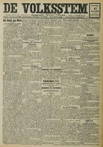 De Volksstem 1926-07-17