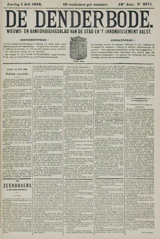 De Denderbode 1888-07-01