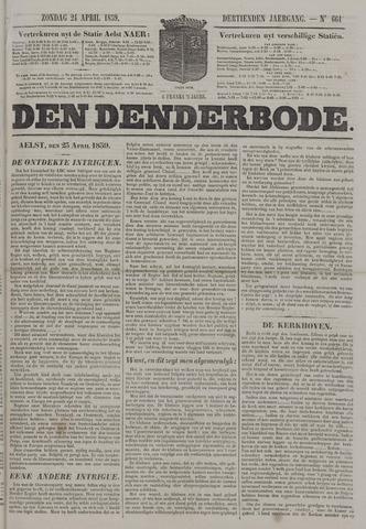 De Denderbode 1859-04-24